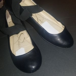 Jessica Simpson Mandayss Flats Wraparound Ankle